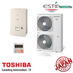 Toshiba/Carrier ESTIA HWS-804XWHT6-E1/HWS-1104H-E1